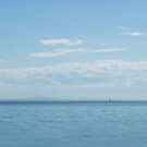 Sailboat at White Rock by Tamara Brandy