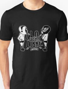 La Luchador Mexico dos Unisex T-Shirt