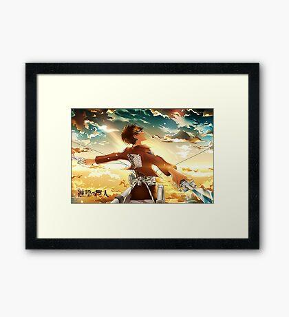 Eren Jaeger Framed Print