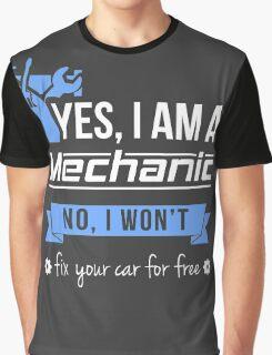 Mechanic Graphic T-Shirt