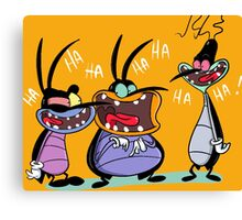 character oggy Canvas Print
