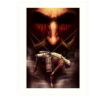 Attack on titan Art Print