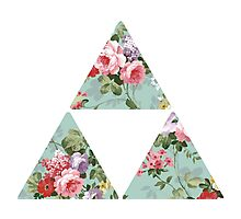 Floral Zelda Photographic Print
