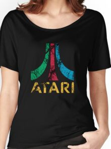 Atari Art - Classic Logo Women's Relaxed Fit T-Shirt