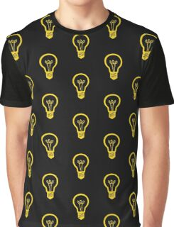 Attention Lightbulb Graphic T-Shirt