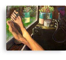 Soak in the Succulence  Canvas Print
