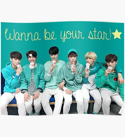 ASTRO Wanna Be Your Star Poster