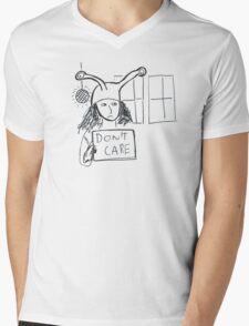 Exam Pressure - Don't Care Mens V-Neck T-Shirt