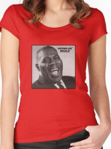 Howlin' Wolf Women's Fitted Scoop T-Shirt