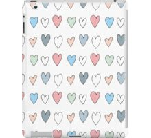 Colorful hearts pattern iPad Case/Skin