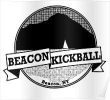 Beacon Kickball Logo (for light colors) Poster