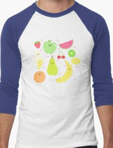CUTE FRUIT! Men's Baseball ¾ T-Shirt
