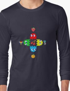 Pac Man  Long Sleeve T-Shirt