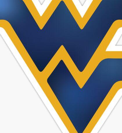 WVU West Virginia University logo Sticker