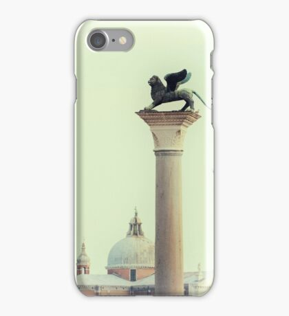 Winged Lion of Venice iPhone Case/Skin