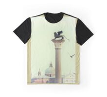 Winged Lion of Venice Graphic T-Shirt