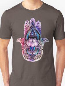 Hamsa Color - black Unisex T-Shirt
