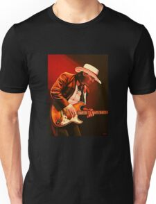 Stevie Ray Vaughan painting Unisex T-Shirt