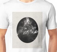 God's Window - Space In Black And White Unisex T-Shirt