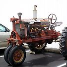VINTAGE FARMALL TRACTOR by Pauline Evans