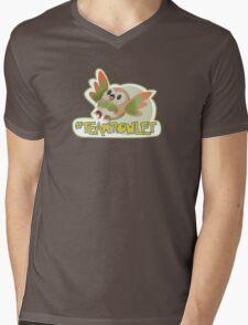 Team Rowlet! Mens V-Neck T-Shirt