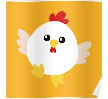 Happy Chicken - No Text Poster