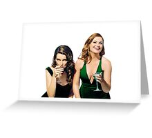 Tina Fey and Amy Poehler SNL Greeting Card