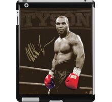 Mike Tyson The Greatest Ever iPad Case/Skin