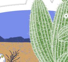 Squirrel Cactus  Sticker