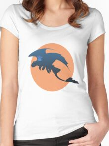 Toothless and Stitch Women's Fitted Scoop T-Shirt