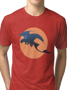 Toothless and Stitch Tri-blend T-Shirt