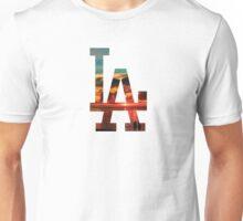 LA Beach White Unisex T-Shirt