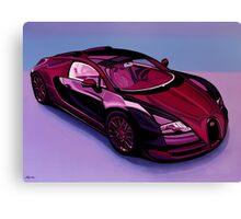 Bugatti Veyron Painting Canvas Print