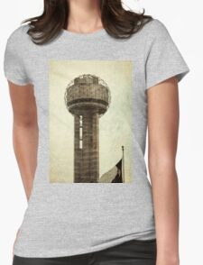 Dallas Architecture 24  Womens Fitted T-Shirt