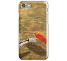 """Koi pond"" iPhone Case/Skin"