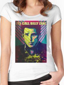 I'LL CALL BILLY ZANE DON ATARI SHIRT ZOOLANDER 2 Women's Fitted Scoop T-Shirt