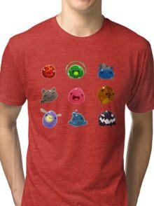 Slimes in Slime Rancher Tri-blend T-Shirt