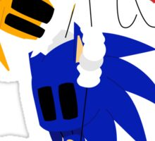 Sonic and Tails Sticker