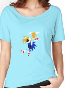 Sonic and Tails Women's Relaxed Fit T-Shirt