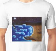 Night by the sea Unisex T-Shirt