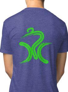 Green Bike by Peter Hunt Tri-blend T-Shirt