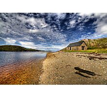Boathouse by the Loch Photographic Print