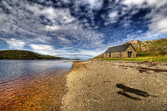 Boathouse by the Loch by derekbeattie