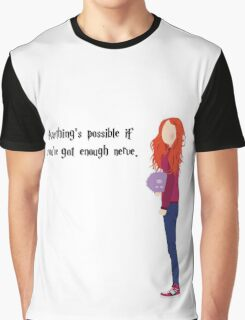 Ginny Weasley - Anything's possible if you've got enough nerve. Graphic T-Shirt