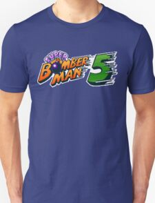 Super Bomberman 5 logotype Unisex T-Shirt