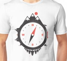 ADVENTURE COMPASS Unisex T-Shirt