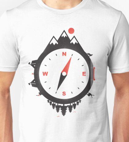 ADVENTURE COMPASS Unisex T-Shirt