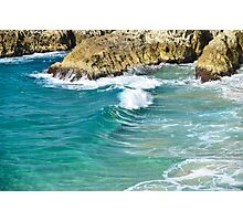 A wave from the Coral Sea Photographic Print