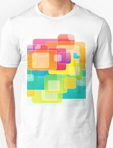Colour Square Unisex T-Shirt