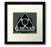 UAC Mint Green Logo Framed Print